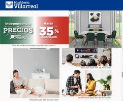 Ofertas de Mueblería Villarreal en el catálogo de Mueblería Villarreal ( 12 días más)