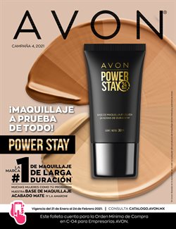 Ofertas de Perfumerías y Belleza en el catálogo de Avon en Guadalajara ( Caduca hoy )