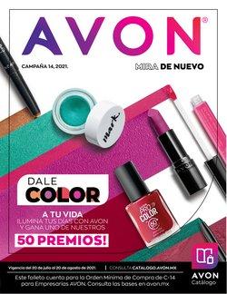 Catálogo Avon ( 3 días más)