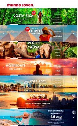 Ofertas de Viajes en el catálogo de Mundo Joven en Tláhuac ( 3 días más )