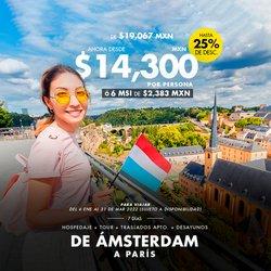 Ofertas de Viajes en el catálogo de Mundo Joven ( 15 días más)