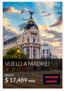 Ofertas de Viajes  en el folleto de Mundo Joven en Chihuahua