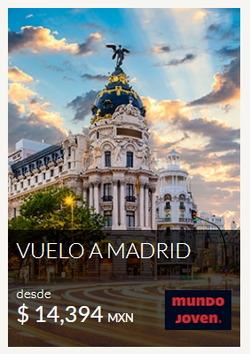 Ofertas de Viajes  en el folleto de Mundo Joven en Toluca (México)