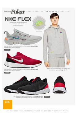 Ofertas de Nike en el catálogo de Pakar ( Más de un mes)
