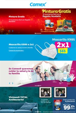 Catálogo Comex en Ciudad de México ( Caducado )
