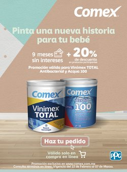 Ofertas de Hogar y Muebles en el catálogo de Comex en Naucalpan (México) ( 8 días más )