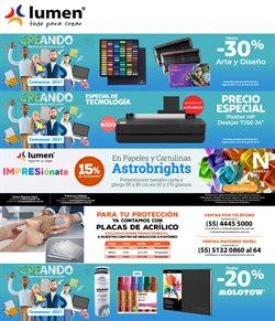 Ofertas de Librerías y Papelerías en el catálogo de Lumen en Guadalajara ( 2 días publicado )