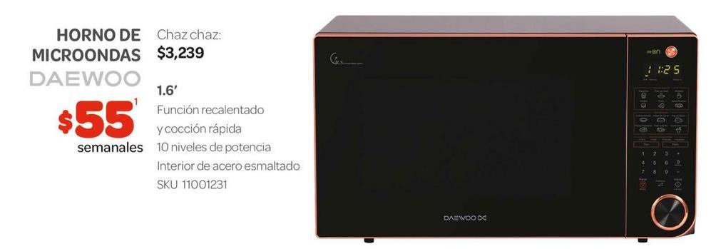 Comprar horno microondas en hermosillo ofertas y cat logos for Oferta encimera y horno