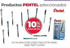 Oferta de Bolígrafos Pentel por