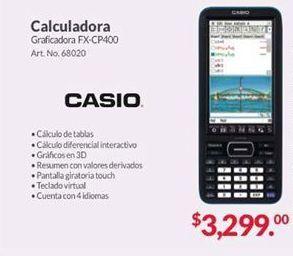 Oferta de Calculadora Casio por $3299