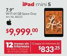 Oferta de IPad Apple por $9999