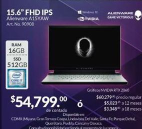 Oferta de Laptop Dell por $54799