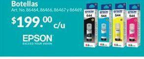 Oferta de Tinta impresora Inkjet Epson por $199