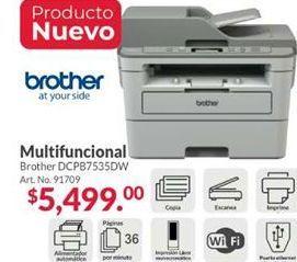 Oferta de Impresora láser Brother por $5499