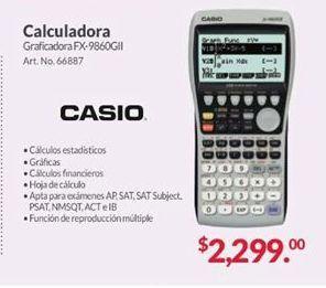 Oferta de Calculadora Casio por $2299