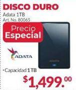 Oferta de Disco duro externo 1TB Adata por $1499