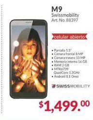 Oferta de Celulares SwissMobility por $1499
