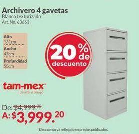 Oferta de Archiveros por $3999.2