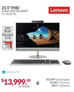 Oferta de All in One Lenovo por $13999