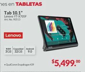 Oferta de Tablet Android Lenovo por $5499
