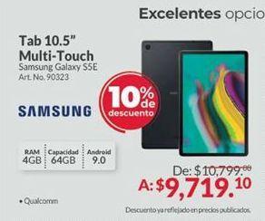 Oferta de Tablet Android Samsung por $9719.1