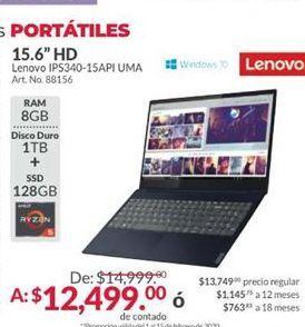 Oferta de Laptop Lenovo por $12499