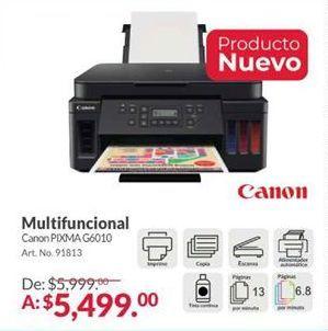 Oferta de Impresora multifunción Canon por $5499