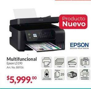 Oferta de Impresora multifunción Epson por $5999