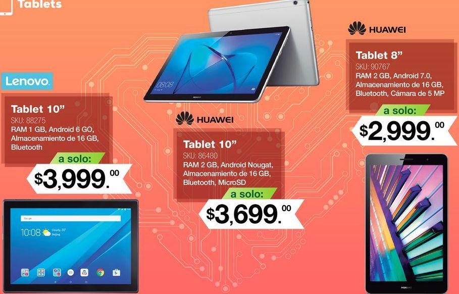 Oferta de Tablet Huawei por