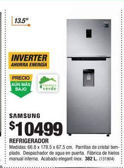 Oferta de Refrigeradores Samsung por $10499
