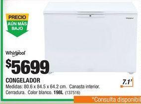 Oferta de Refrigeradores Whirlpool por $5699
