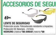 Oferta de Gafas de seguridad por