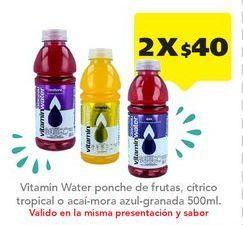 Oferta de Jugos Vitamin Water por $40