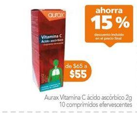 Oferta de Vitaminas AURAX por $55.25