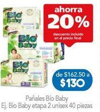 Oferta de Pañales Bio Baby por $130