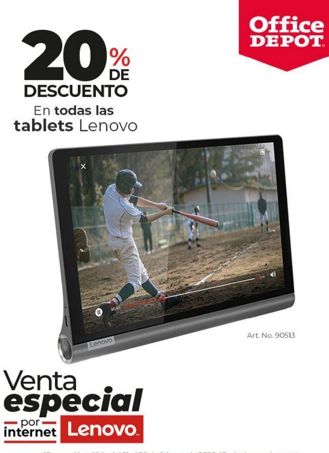Oferta de Tablet Lenovo por