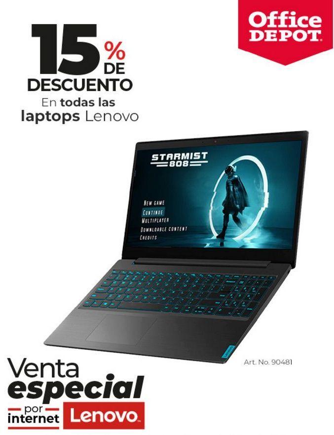 Oferta de Laptop Lenovo por