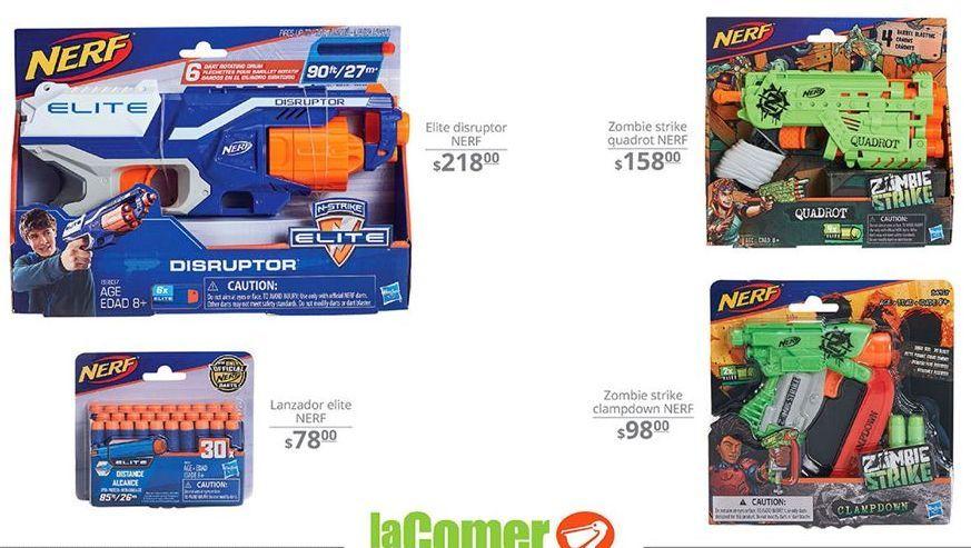 Oferta de Pistola de juguete Nerf por