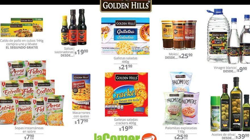 Oferta de Galletas Golden Hills por