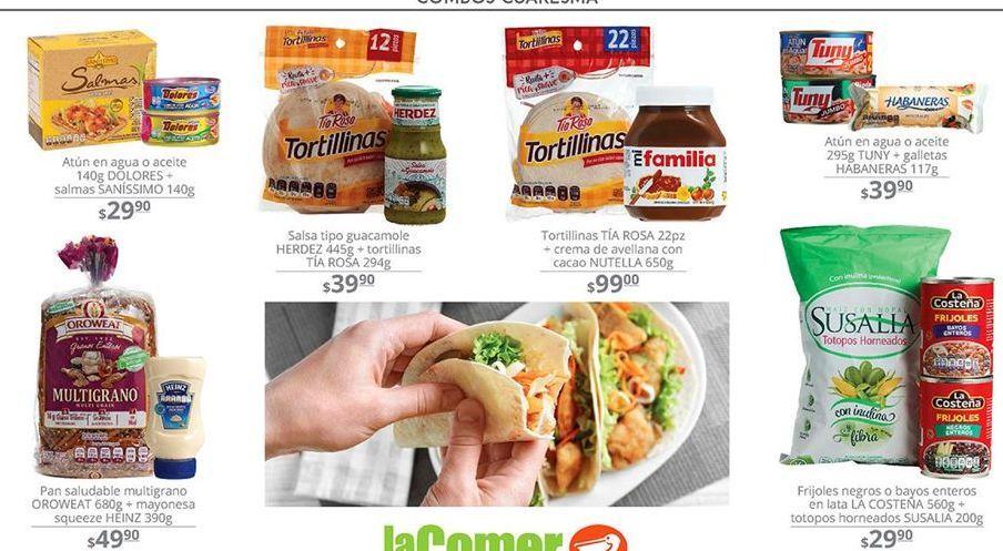 Oferta de Tortillas por