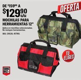Oferta de Mochilas por $129.9