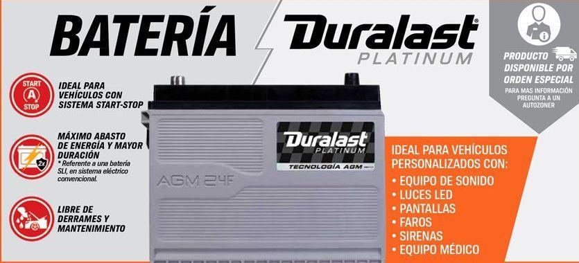 Oferta de Batería de coche Duralast por