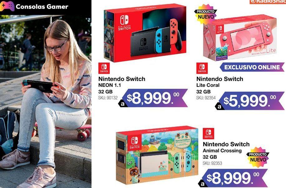 Oferta de Nintendo Switch Nintendo por $8999