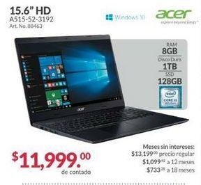 Oferta de Laptop Acer por $11999