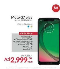 Oferta de Celulares Motorola por $2999