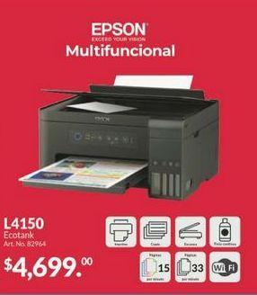 Oferta de Impresoras Epson por $4699