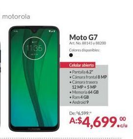 Oferta de Celulares Motorola por $4699