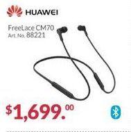 Oferta de Audífonos Huawei por $1699