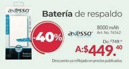 Oferta de Batería externa para tablet por $449.4