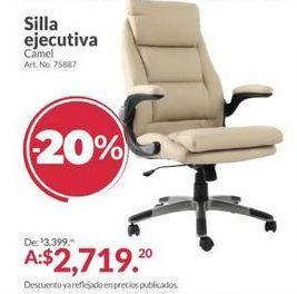 Oferta de Silla de oficina por $2719.2